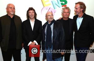 Peter Gabriel, Steve Hackett, Phil Collins, Tony Banks and Mike Rutherford