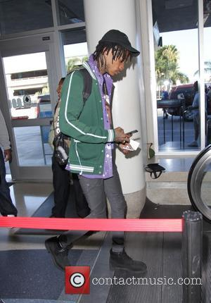 Wiz Khalifa - Wiz Khalifa leaves Los Angeles International Airport - Los Angeles, California, United States - Thursday 2nd October...