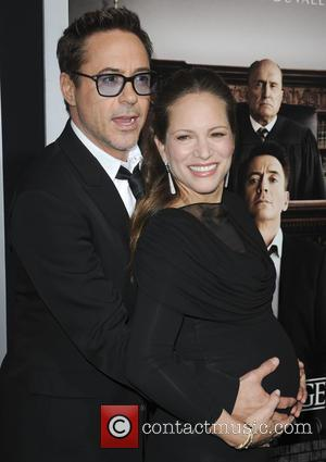 Robert Downey Jr. and Susan Downey - Film Premiere of The Judge - Los Angeles, California, United States - Thursday...