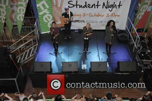 Stooshe - London girl group Stooshe perform at Merry Hill at Merryhill Shopping Centre - Dudley, United Kingdom - Friday...