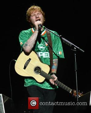 Ed Sheeran - Ed Sheeran performs at 3Arena in Dublin - Dublin, Ireland - Friday 3rd October 2014