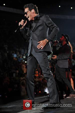 Marc Anthony - Marc Anthony performs at the American Airlines Arena on his 'Cambio de Piel' tour - Miami Beach,...