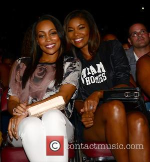 Monica and Gabrielle Union