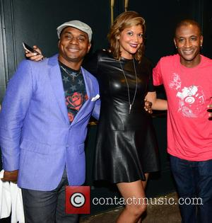 Tony Roberts, Aida Rodriguez and Tommy Davidson