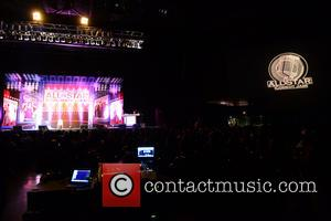 View - Shaquille O'Neal Presents: All Star Comedy Jam at the James L. Knight Center at James L Knight Center...