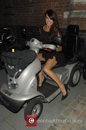 Lizzie Cundy - Celebrities arrive at Chiltern Firehouse - London, United Kingdom - Friday 3rd October 2014