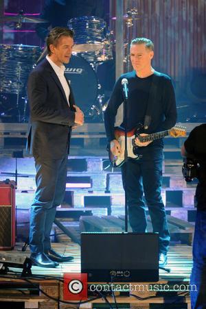 Markus Lanz and Bryan Adams