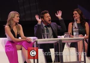 Kim Matula, Scott Clifton and Heather Tom