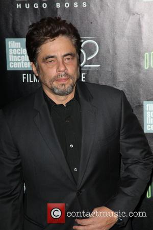 Benicio del Toro - Many stars attended and were photographed at the 52nd New York Film Festival in New York,...