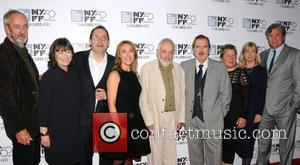 Dick Pope, Marion Bailey, Michael Barker, Dorothy Atkinson, Mike Leigh, Timothy Spall, Suzie Davies and Georgina Lowe