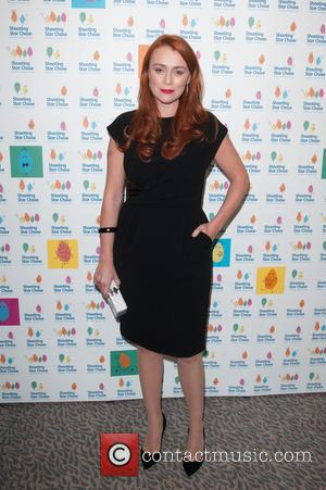 Keeley Hawes - Shooting Star Chase Ball at The Dorchester - Arrivals - London, United Kingdom - Saturday 4th October...
