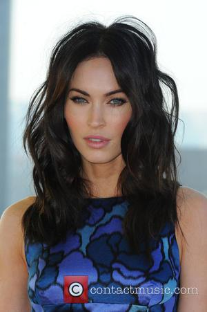 Megan Fox - Stars from the blockbuster movie 'Teenage Mutant Ninja Turtles' were photographed at the promotion of the movie...