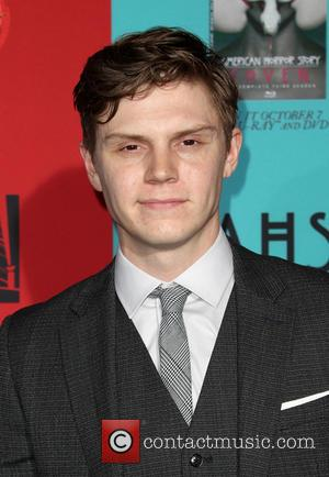 Evan Peters - Stars turned out in numbers for the Premiere Screening Of FX's 'American Horror Story: Freak Show' in...