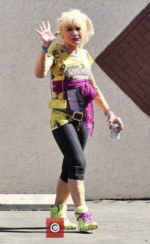 Betsey Johnson - 'Dancing with the Stars' rehearsals at Dancing With The Stars rehearsal studio - Los Angeles, California, United...