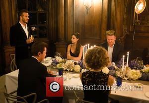 David Beckham, Victoria Beckham, Simon Fuller and Gordon Ramsay