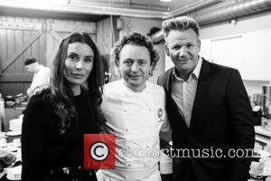 Gordon Ramsay, Tana Ramsay and Tom Kitchin