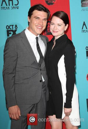 Finn Wittrock and girlfriend - Stars turned out in numbers for the Premiere Screening Of FX's 'American Horror Story: Freak...