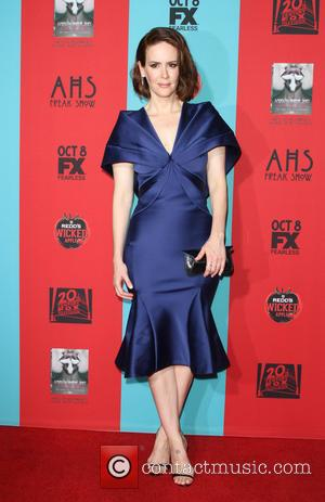 Sarah Paulson - Stars turned out in numbers for the Premiere Screening Of FX's 'American Horror Story: Freak Show' in...