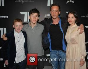 Corey McKinley, Barry Keoghan, Killian Scott and Charlie Murphy