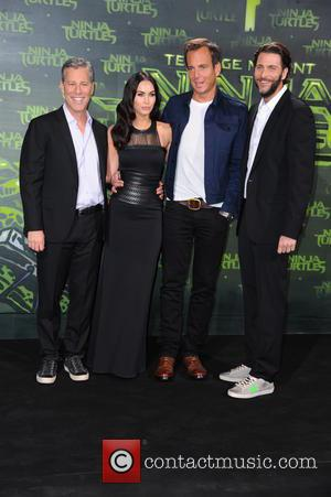 Andrew Form, Megan Fox, Will Arnett and Bradley Brad Fuller