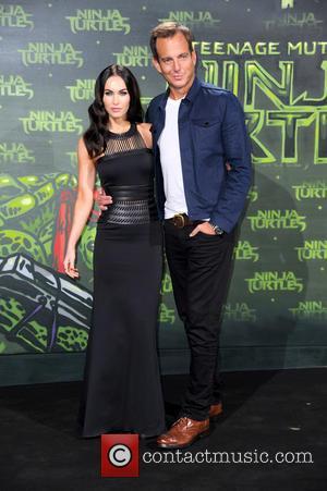 Megan Fox and Will Arnett - Stars from the blockbuster movie 'Teenage Mutant Ninja Turtles' attended the German premiere at...
