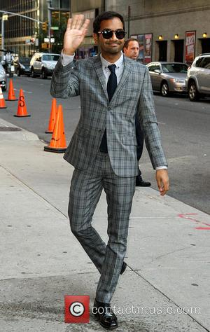 Aziz Ansari - Late Show with David Letterman at Ed Sullivan Theater - New York City, United States - Monday...