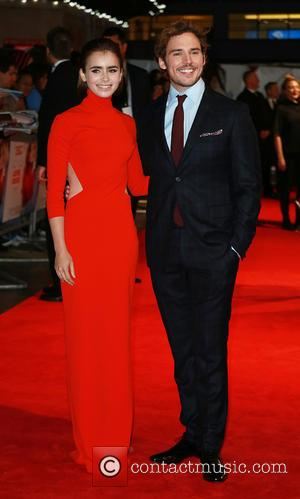 Lily Collins and Sam Claflin - 'Love, Rosie' world premiere at Odeon West End - London, United Kingdom - Monday...