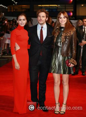 Lily Collins, Sam Claflin and Suki Waterhouse