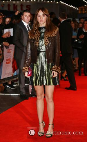 Suki Waterhouse - 'Love, Rosie' world premiere at Odeon West End - London, United Kingdom - Monday 6th October 2014