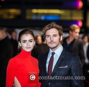 Sam Claflin and Lily Collins