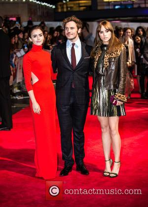 Sam Claflin, Suki Waterhouse and Lily Collins