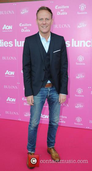 Antony Cotton - Manchester United Ladies Lunch - Manchester, United Kingdom - Monday 6th October 2014