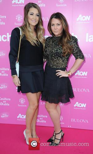 Hayley Fletcher and Nicky Pike - Manchester United Ladies Lunch - Manchester, United Kingdom - Monday 6th October 2014
