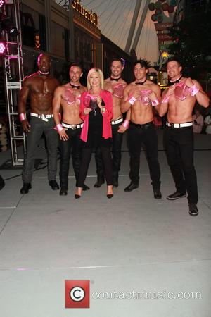Olivia Newton-john and Chippendales
