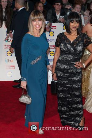Kate Garraway and Guest - Pride of Britain Awards at Grosvenor Hotel, Grosvenor House - London, United Kingdom - Monday...