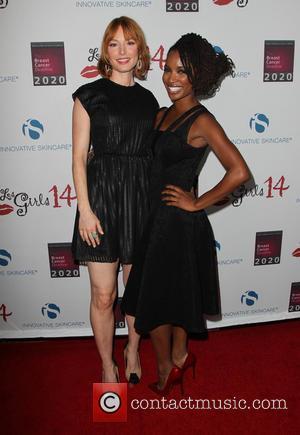 Alicia Witt and Shanola Hampton