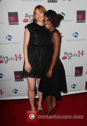 Alicia Witt and Shanola Hampton - Les Girls 14 Cabaret Benefit at Avalon - Hollywood, California, United States - Monday...
