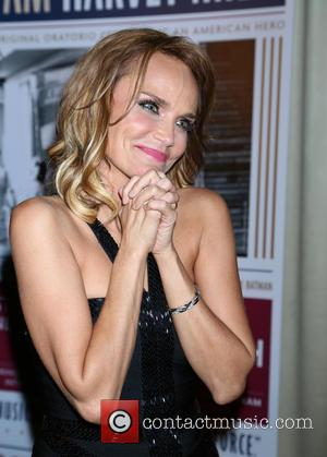 Kristin Chenoweth - 'I Am Harvey Milk' - After party at Bryant Park Grill,, Bryant Park - New York, New...