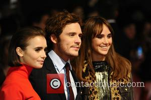 Lily Collins, Sam Claflin and Suki Waterhouse - World premiere of 'Love, Rosie' at Leicester Sqaure, Odeon West End -...