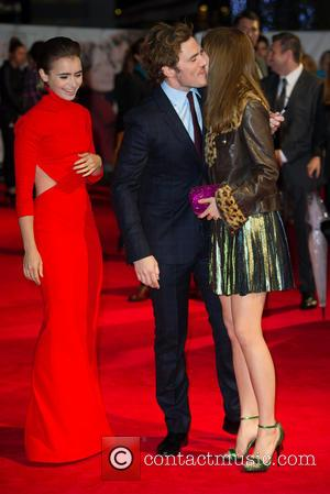 Lily Collins & Sam Claflin & Suki Waterhouse - World premiere of 'Love, Rosie' at Leicester Sqaure, Odeon West End...