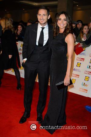 Frank Lampard and Christine Bleakley - The Pride Of Britain Awards 2014 - Arrivals - London, United Kingdom - Monday...