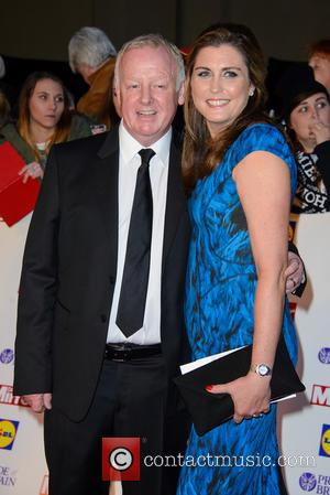 Les Dennis - The Pride Of Britain Awards 2014 - Arrivals - London, United Kingdom - Monday 6th October 2014