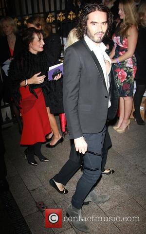 Russell Brand - Pride of Britain Awards at Grosvenor Hotel, Grosvenor House - London, United Kingdom - Monday 6th October...