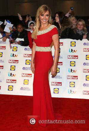 Carol Vorderman - The Pride of Britain Awards 2014 at Grosvenor House - London, United Kingdom - Monday 6th October...