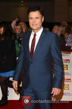 Donnie Osmond - The Pride of Britain Awards 2014 at Grosvenor House - London, United Kingdom - Monday 6th October...