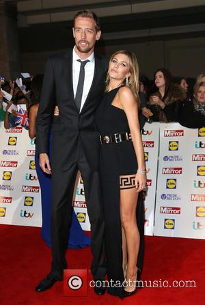 Abbey Clancy and Peter Crouch - The Pride of Britain Awards 2014 at Grosvenor House - London, United Kingdom -...