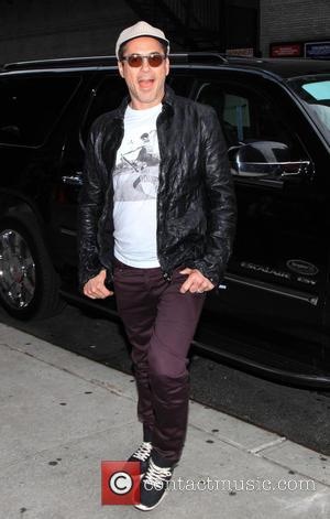 Robert Downey Jr. - Celebrity guests arrive for the 'Late Show with David Letterman' - New York, New York, United...