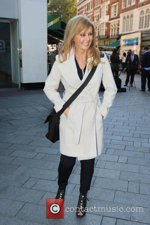 Carol Vorderman - Celebrities outside Capital Radio - London, United Kingdom - Tuesday 7th October 2014