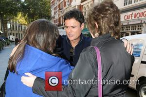 Donny Osmond - Celebrities outside Capital Radio - London, United Kingdom - Tuesday 7th October 2014