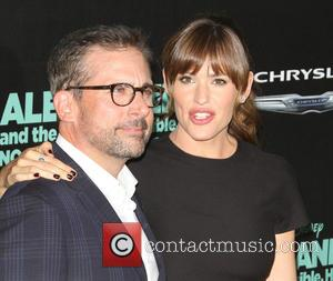 Steve Carell and Jennifer Garner - Los Angeles premiere of 'Alexander and The Terrible, Horrible, No Good, Very Bad Day'...